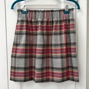 NEW J Crew Elastic Waist Sidewalk Mini Skirt (4)